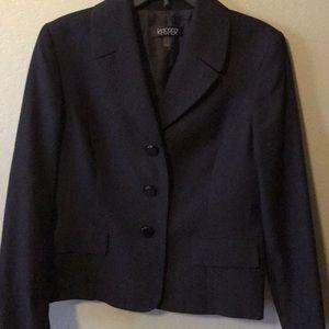 Jasper black suit jacket